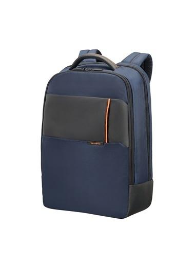 "Samsonite 16N-01-006 17.3"" Qibyte Notebook Sırt Çantası Mavi"